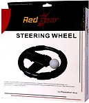 Red Gear Steering Wheel for PS3 Move (Black, For PS3)