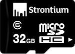 Strontium 32GB MicroSD Memory Card