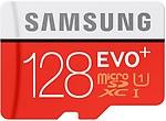 Samsung 128 Gb Uhs-i 80mb/s Class 10 Evo Plus Micro Sdhc Card