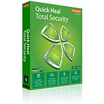 Quick Heal Total Security 1 User 1 year, multicolor, 3 users