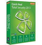 Quickheal Total Security 2013 (3 User-3 Years) , green