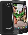 Videocon A55 HD Dual SIM Mobile Phone - Black