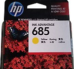 HP 685 Yellow Original Ink Advantage Cartridge CZ124AA