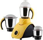Anjalimix Corby Yellow 1000 Watts 4 Jars 1000 W Mixer Grinder