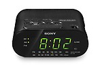 Sony ICF-C218/B Clock Radio (Black)