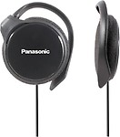 Panasonic Clip Type Earphone Headphones for iPods, MP3 RP-HS46E-K
