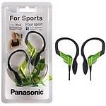 Panasonic Sports Gym Earphone Headphone for iPods, MP3 RP-HS33E-D