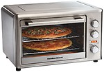 Hamilton Beach 31103-IN 32-Litre 1500-Watt Stainless Steel Toaster Oven
