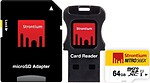 Strontium 64GB Nitro Micro SD Card 85MB/S