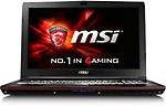 MSI Leopard Pro GP Series GP62 6QE GTX950M 2GB GDDR5 Core i7 (6th Gen) - (8 GB DDR4/1 TB HDD/Windows 10/2 GB Graphics) Notebook