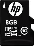 HP MicroSDHC 8 GB Class 10