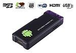 Gadget Hero MK802+ Mini PC Android 4 Wi-fi Google Smart TV Box, 1GB DDR3 RAM, 4 GB HDD (Black)