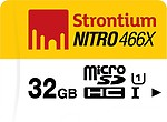 Strontium 32 GB 70 MB/S (Class 10) Nitro MicroSDHC Card UHS-1