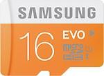Samsung 16 GB Micro SDHC Evo Memory Card