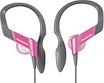 Panasonic Sports Gym Earphone Headphone for iPods, MP3 RP-HS33E-P
