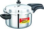 Prestige Deluxe Alpha Stainless Steel Pressure Cooker, 4 Litres