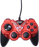 Enter Vibration E-GPV10 Gamepad (Red, For PC)