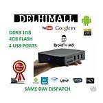 Branded Droidtv Media Player M3 Android 4 Google TV Box 1.4 Ghz, 1G, 4GB, XBMC , HDD Divx