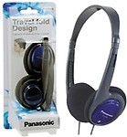 Panasonic RP-HT030E-A Headphone - Blue