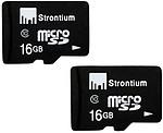Strontium 16GB MicroSD Memory Card Class 10