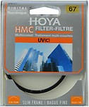 Hoya 67 mm UV Camera Lens Filter - Black