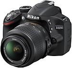 Nikon D3200 Digital SLR Camera with AF-S 18-55mm VR Kit Lens