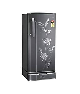 LG 190 Litres GL-205XFDG5 Direct Cool Single Door RefrigeratorCrystal Eden price in India.