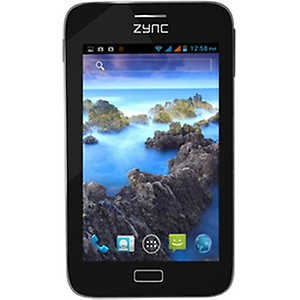 "Zync Z5 5"" Android Smartphone Tab - Black price in India."