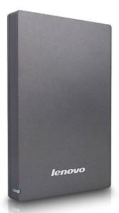 Lenovo UHD F309 1 TB USB 3.0 Portable Hard Drive (Grey)