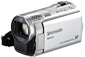 Panasonic SDR-S71 Camcorder price in India.