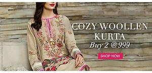 Cozy Woollen Kurta 2 for Rs. 999