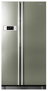 Samsung RS21HSTPN Side-by-Side Refrigerator (600 Ltrs, Platinum Inox) price in India.