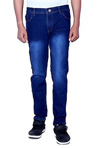 LONDON LOOKS Slim Fit Mens Blue Jeans