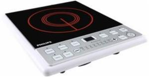 Philips 2100 Watt Induction Cooktop (HD4907) - Black price in India.
