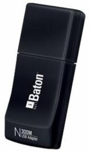 iBall 300M Wireless-N USB Adapter (Black) price in India.