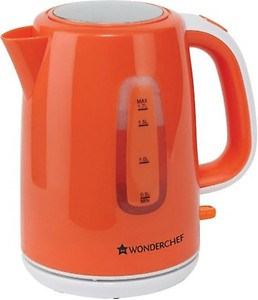 Wonderchef 63151726 Electric Kettle  (1.7 L, Orange)