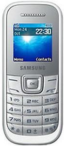 Samsung Guru 1200 GT-E1200ZKYINS - Black price in India.