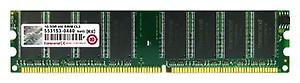 TRANSCEND 1GB RAM DDR1 IGB(400Mhz)JM388D643A-5L