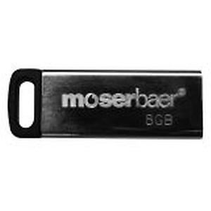 Moserbaer 8GB Atom Pendrive USB 2.0