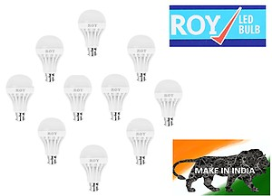 Buy Roy LED Bulbs 7W (Pack of 10) @Rs.399 Only