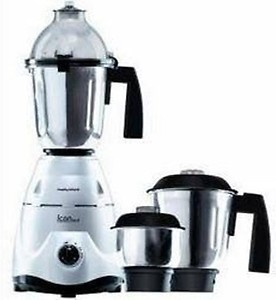 Morphy Richards Icon Deluxe Mixer Grinder 600 Watts Silver