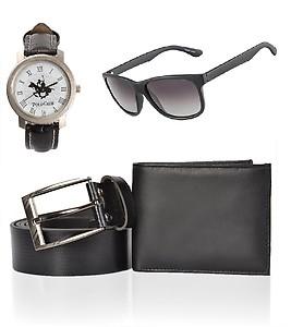 iLiv Combo - Black Wallet , Belt , Wayferer Club Watch-1polo1wayfblkwalletbelt