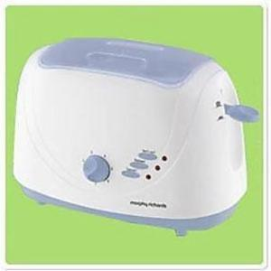 Morphy Richards AT204 Pop-up Toaster WITH LID (White) price in India.