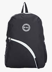 Buy Black Polyester Backpack @Rs.299 Only