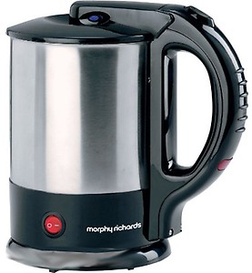 Morphy Richards 1.5 Ltr - Tea Maker Silver Black price in India.