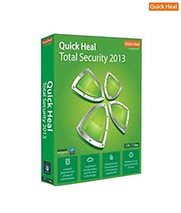 Quickheal Total Security 2012 (3 Users / 3 Years) price in India.