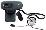 Logitech C-270-HD 3MP Webcam