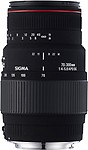 Sigma 70-300mm F4-5.6 APO DG Macro Lens  Motorized For Canon DSLR