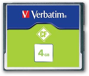 Verbatim 4GB CompactFlash? Card price in India.