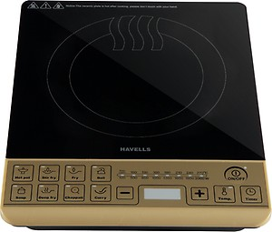 Havells ST-X Induction Cooktop  (Gold, Black, Push Button) price in India.